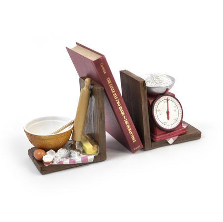Baking Shelf Tidy Book End Pair