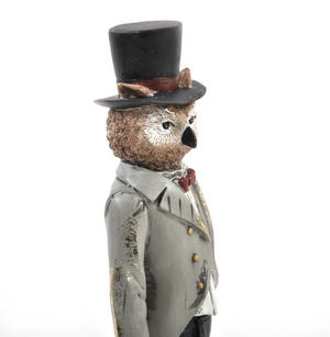 Standing Owl - 26cm Dapper Animals