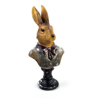 Hare Bust- 32cm Dapper Animals Thumbnail 1