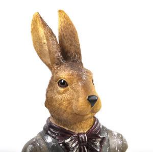 Hare Bust- 32cm Dapper Animals Thumbnail 2