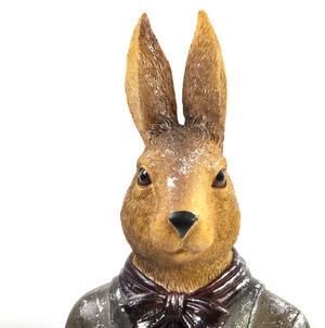 Hare Bust- 32cm Dapper Animals Thumbnail 3