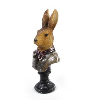 Hare Bust- 32cm Dapper Animals Thumbnail 5