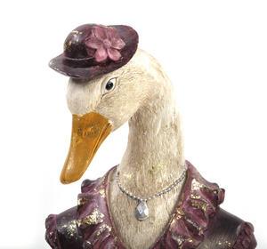 Duck Bust- 29cm Dapper Animals Thumbnail 2