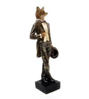 Standing Fox - 38cm Dapper Animals Thumbnail 3