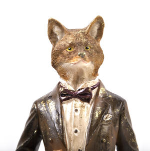 Standing Fox - 38cm Dapper Animals Thumbnail 6