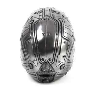 Techno Head Gun Metal Skull 19cm Thumbnail 7