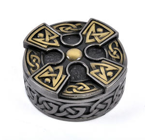 Celtic Cross Box 7.5cm Thumbnail 1