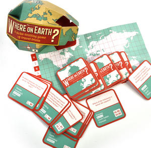 Where On Earth? - Travel Trivia Globe-Trotting Game