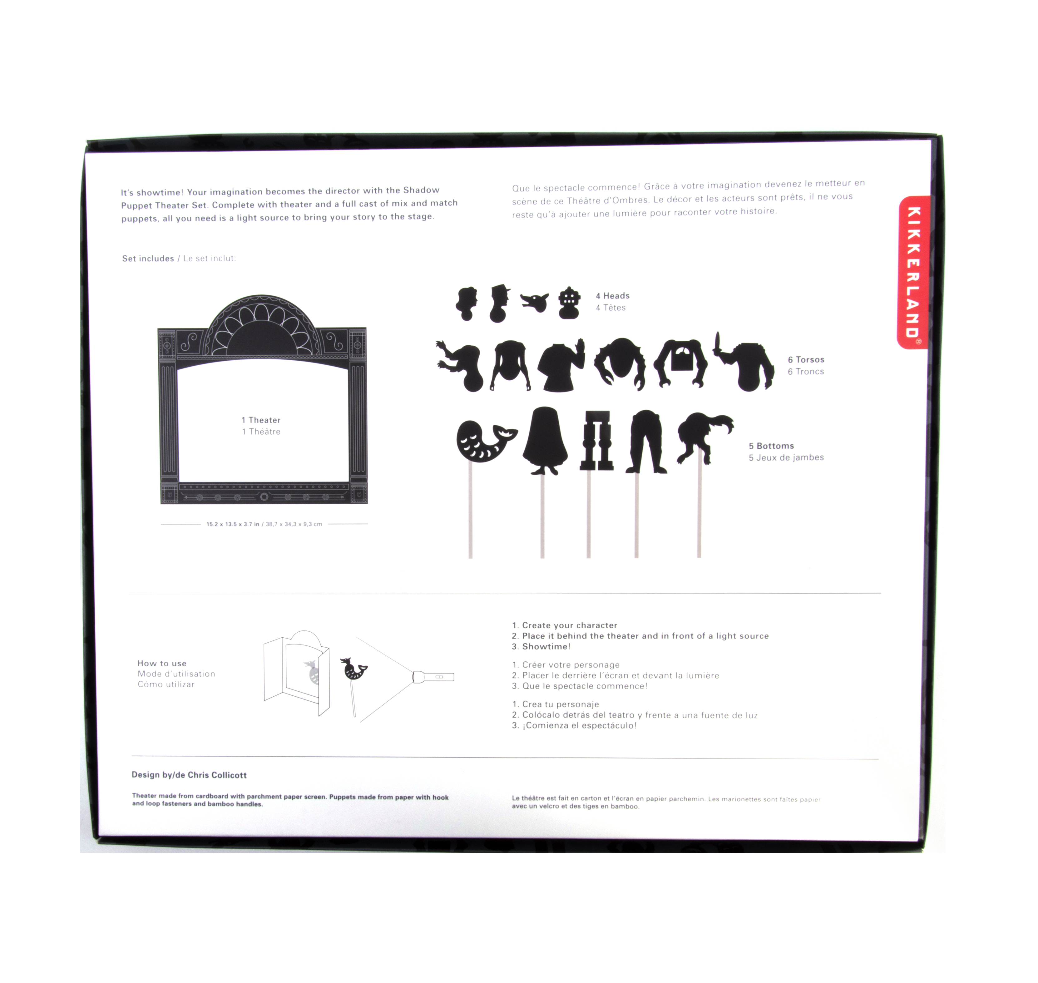 Shadow Puppet Theatre Set