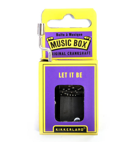 Let it Be - The Beatles Music Box
