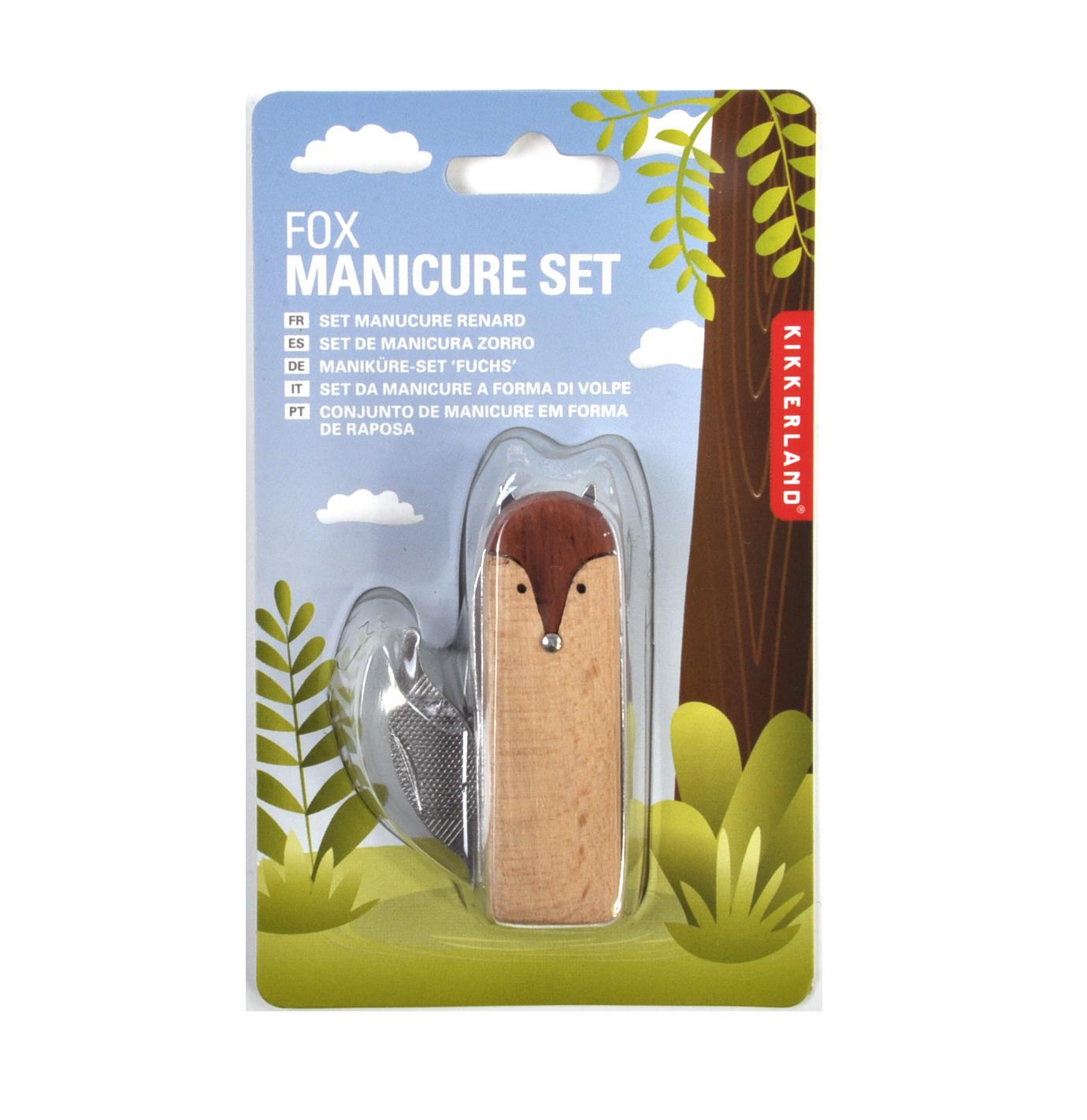 Fox Manicure Nail Clipper Set | Pink Cat Shop