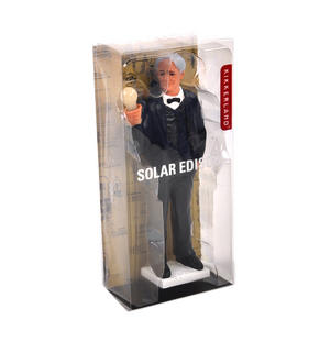 Solar Edison with Solar Powered Light Bulb Thumbnail 5