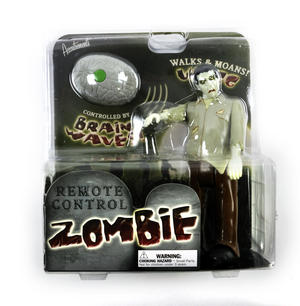 Remote Control Zombie - Walking & Moaning Controlled by RC Brain Thumbnail 1