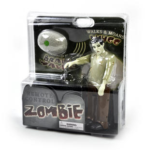 Remote Control Zombie - Walking & Moaning Controlled by RC Brain Thumbnail 3