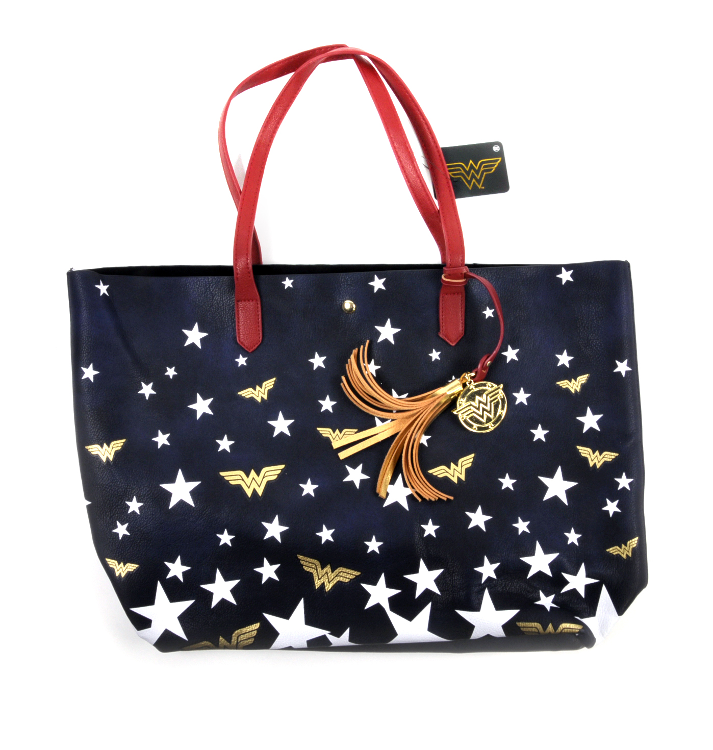 Wonder Woman Superstar Tote Bag Pink Cat Shop