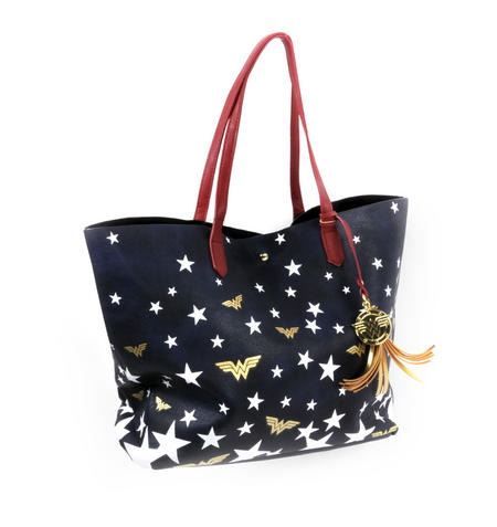 Wonder Woman Superstar Tote Bag