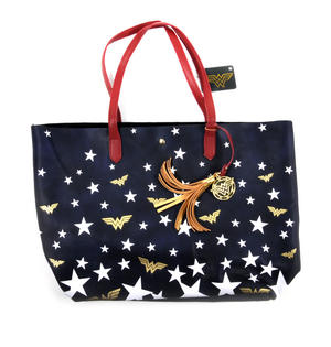 Wonder Woman Superstar Tote Bag Thumbnail 3