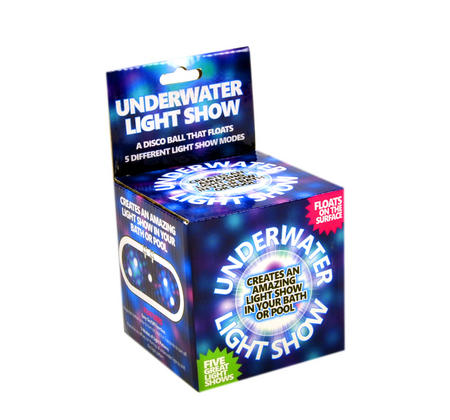 Underwater Light Show - Disco Bath / Pool Ball with 5 Light Shows