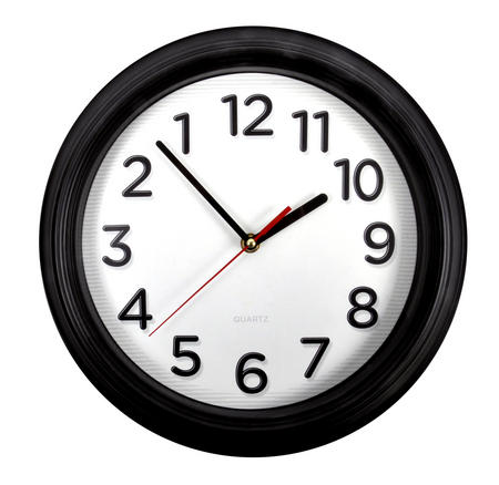Counter Clockwise Backwards Clock