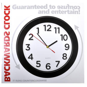 Counter Clockwise Backwards Clock Thumbnail 4