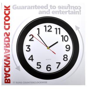 Counter Clockwise Backwards Clock Thumbnail 4