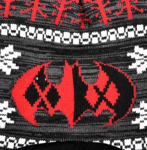 Batman Winter Chullo Hat Thumbnail 3