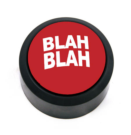 Blah Blah Alert Button