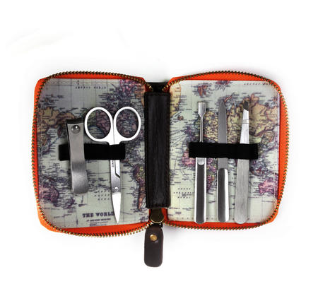 Man of the World Nail Care Kit - Mobile Manicure Travel Set