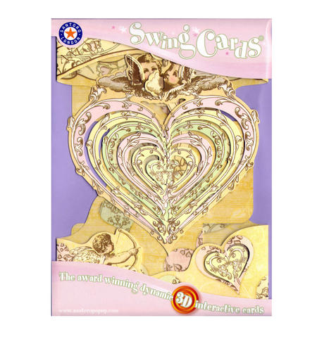 Love Swing Card - Award Winning Dynamic 3D Interactive Greetings Card
