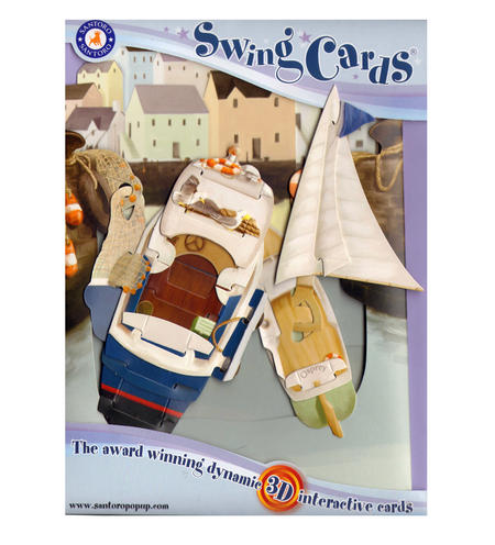 Harbour Swing Card - Award Winning Dynamic 3D Interactive Greetings Card