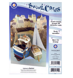 Harbour Swing Card - Award Winning Dynamic 3D Interactive Greetings Card Thumbnail 2
