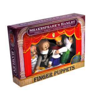 Shakespeare's Hamlet Finger Puppet Set
