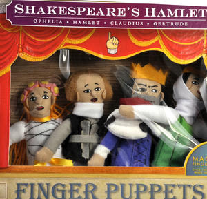 Shakespeare's Hamlet Finger Puppet Set Thumbnail 2