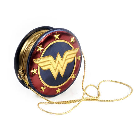 Wonder Woman Shield  Hand Bag with Lasso of Truth Shoulder Strap