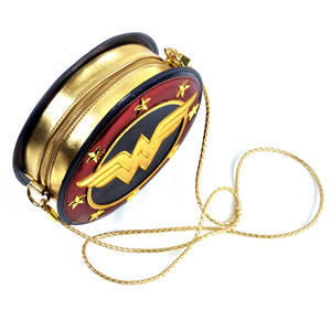 Wonder Woman Shield  Hand Bag with Lasso of Truth Shoulder Strap Thumbnail 3