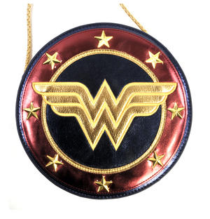 Wonder Woman Shield  Hand Bag with Lasso of Truth Shoulder Strap Thumbnail 5