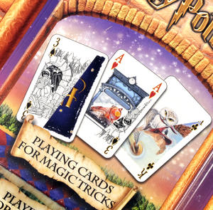 Harry Potter Magic Tricks Playing Cards Thumbnail 2