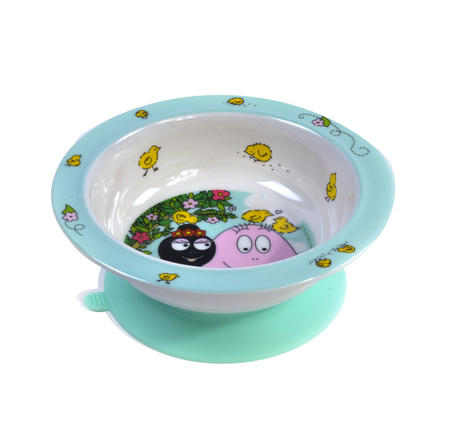Barbapapa & Barbamama Suction Pad Bowl - 6 Months+