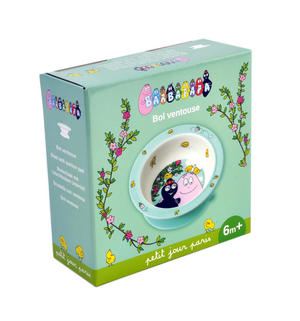 Barbapapa & Barbamama Suction Pad Bowl - 6 Months+ Thumbnail 5