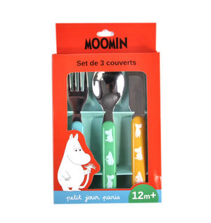 Moomins Cutlery Set - Knife, Fork & Spoon