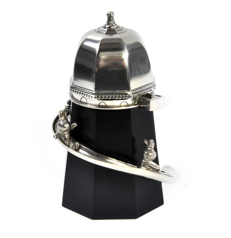 Bunny Day Out - Helter Skelter Pewter Music Box by Royal Selangor