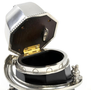 Bunny Day Out - Helter Skelter Pewter Music Box by Royal Selangor Thumbnail 3
