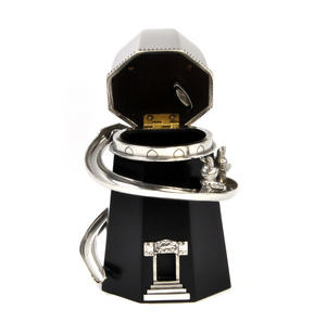 Bunny Day Out - Helter Skelter Pewter Music Box by Royal Selangor Thumbnail 4