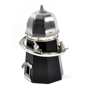 Bunny Day Out - Helter Skelter Pewter Music Box by Royal Selangor Thumbnail 5