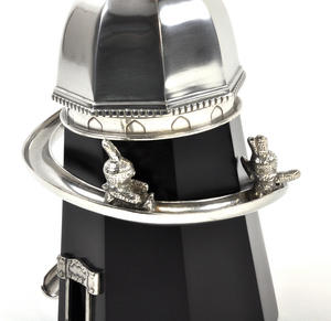 Bunny Day Out - Helter Skelter Pewter Music Box by Royal Selangor Thumbnail 6