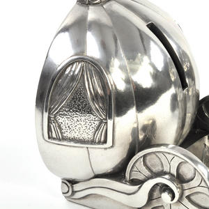 Cinderella Pumpkin Coach Pewter Bookends by Royal Selangor Thumbnail 5