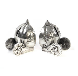 Cinderella Pumpkin Coach Pewter Bookends by Royal Selangor Thumbnail 7