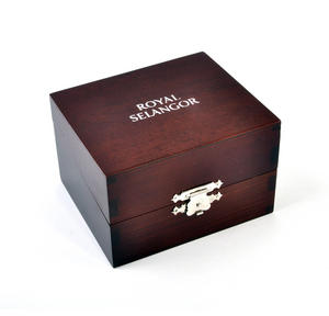 Teddy on Swing Pewter Mug in Wooden Gift Box - Teddy Bears Picnic by Royal Selangor Thumbnail 2
