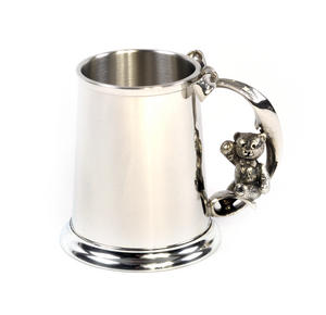 Teddy on Swing Pewter Mug in Wooden Gift Box - Teddy Bears Picnic by Royal Selangor Thumbnail 5