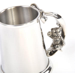 Teddy on Swing Pewter Mug in Wooden Gift Box - Teddy Bears Picnic by Royal Selangor Thumbnail 6